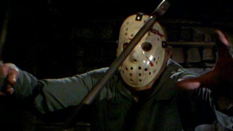 Jason i sin ikoniska hockeymask