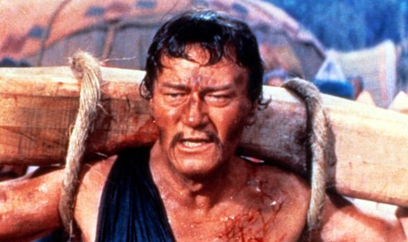 John Wayne som Djingis Khan.