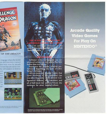 Hellraiser NES ad