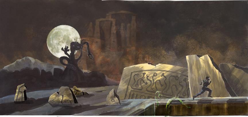 Dark Adventure Artwork