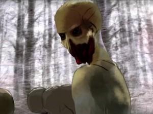 En inte allt för störande animerad zombie