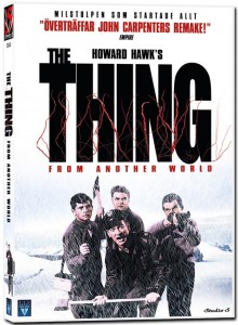 The Thing omslag