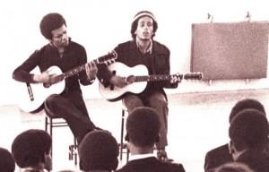 Johnny Nash och Bob Marley 1971
