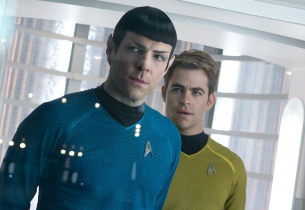 Star Trek Into Darkness Chris Pine Zachary Guinto