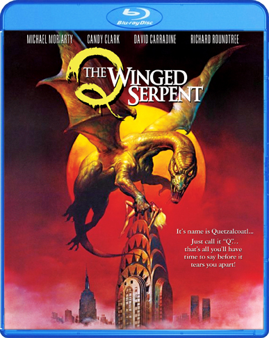 q the winged serpent blu ray