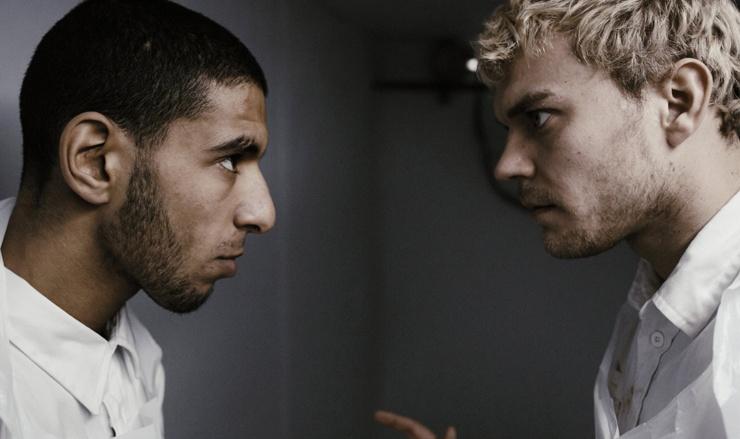 Rashid och Rune utan mössan