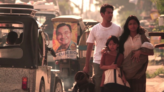 En flytt till Manila i förhoppning om ett bättre liv