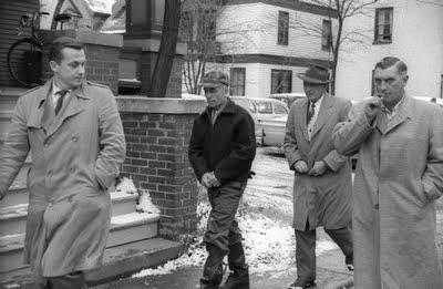 Ed Gein på väg till sin rättegång