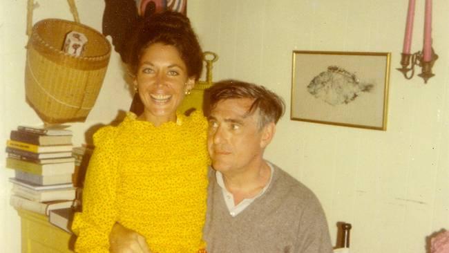 Peggy och Joe i något yngre år
