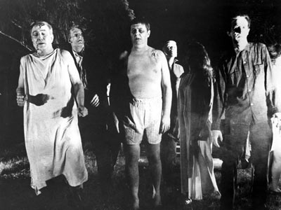 Stilbildande zombies vankar in i filmhistorien