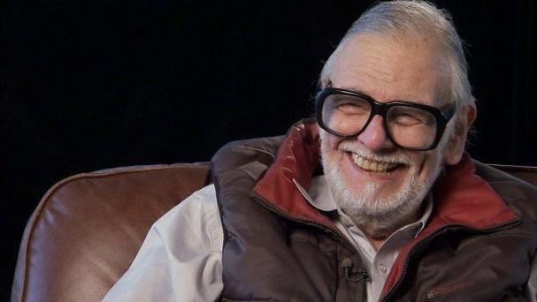 En småmysig och glad George A. Romero.