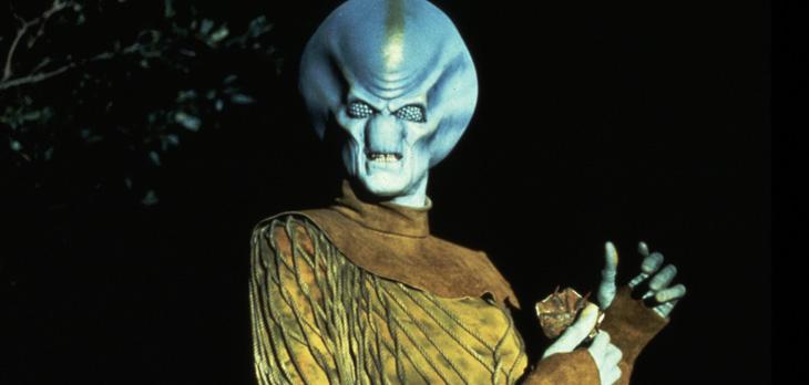 """Filmens antagonist, den """"fasliga"""" utomjordingen"""