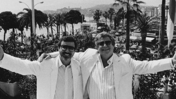 Yoram Globus och Menahem Golan under Cannons glansdagar.