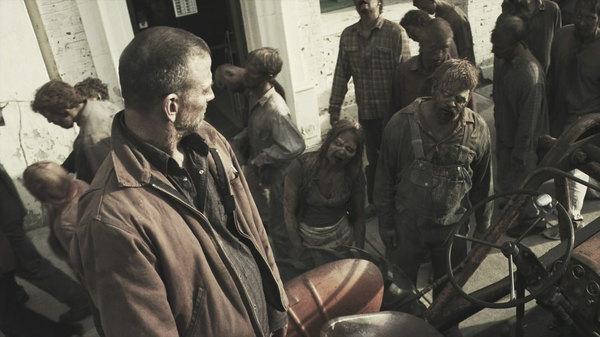 Genomgående ganska bra praktiska effekter och välgjord zombiesminkning.