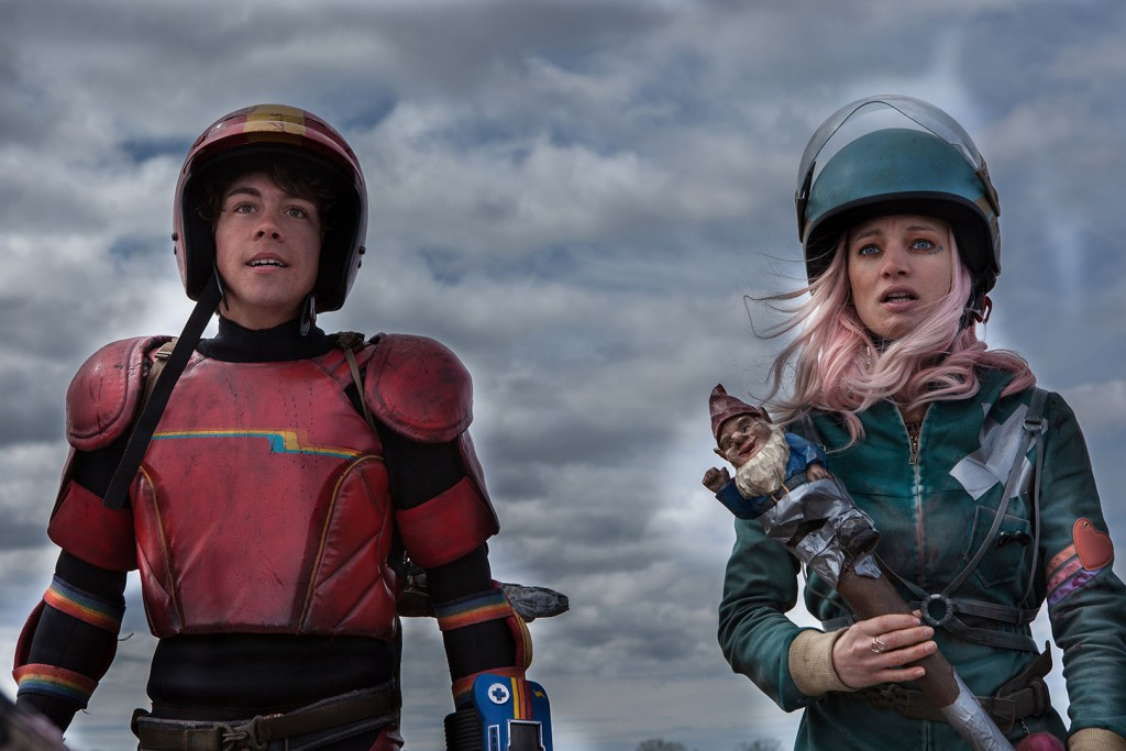 Turbo Kid med sin parhäst Apple.