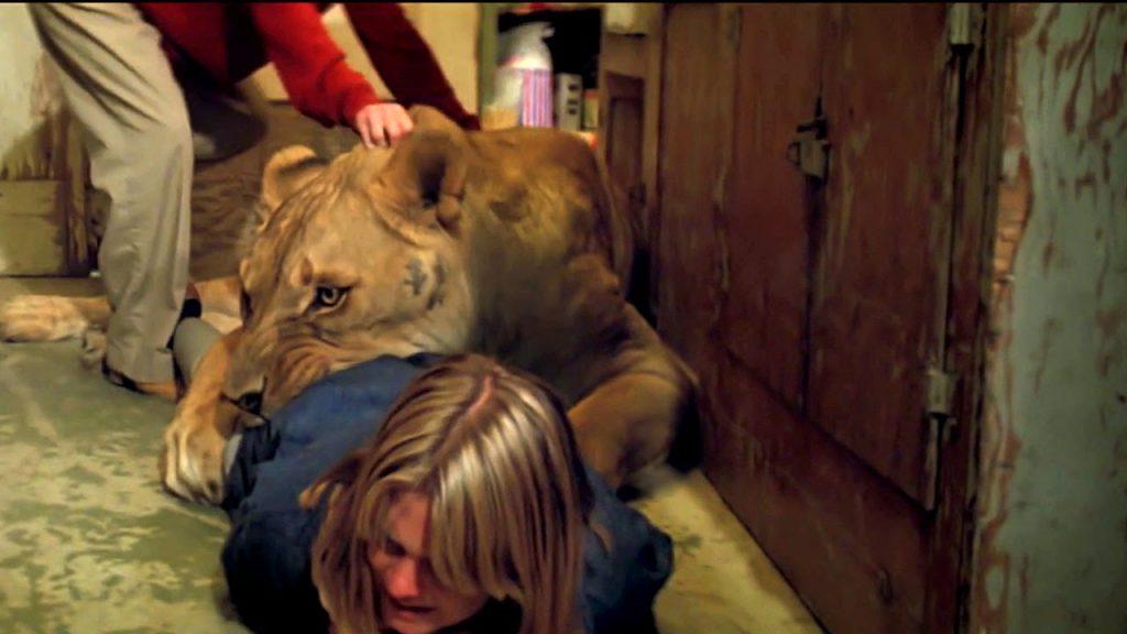 Melanie Griffith var som så många andra nära att mista livet under inspelningen av Roar.