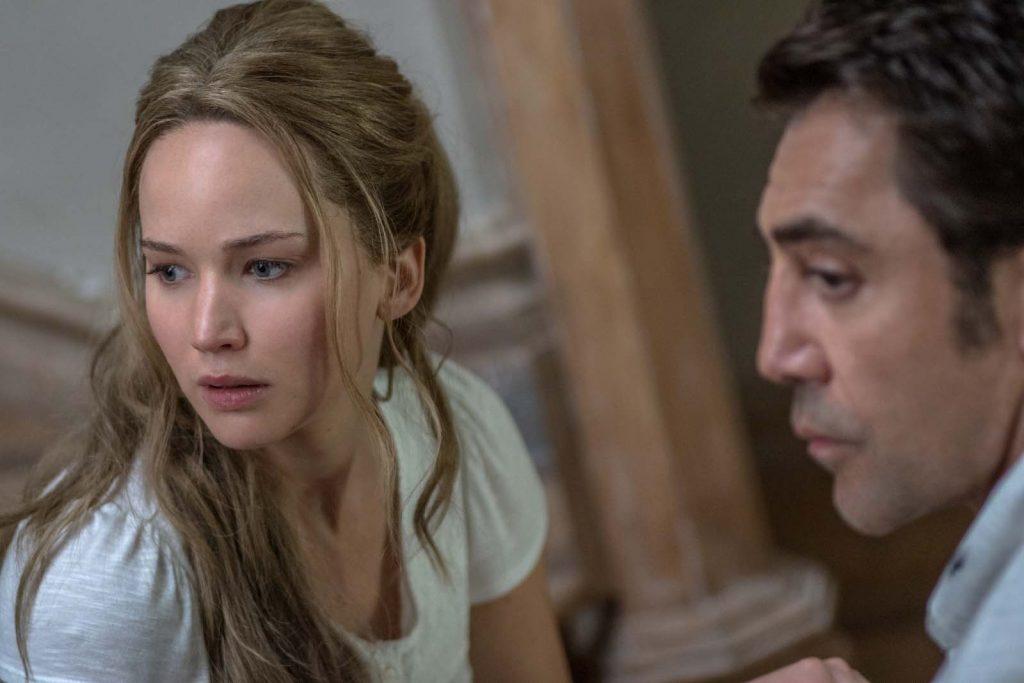 Jennifer Lawrence och Javier Bardem