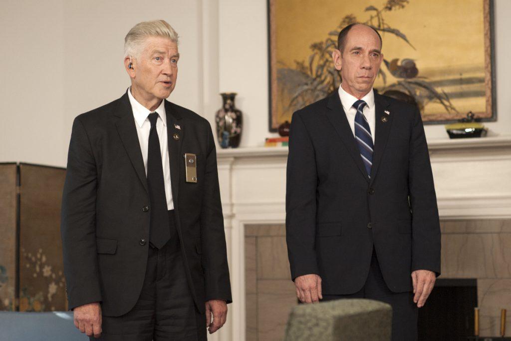 David Lynch och den nyligen avlidne Miguel Ferrer