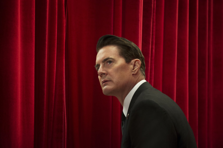 Kyle MacLachlan som Agent Cooper. Men är detta egentligen den riktiga Cooper eller en kopia? De vill säga en så kallad Coopia...