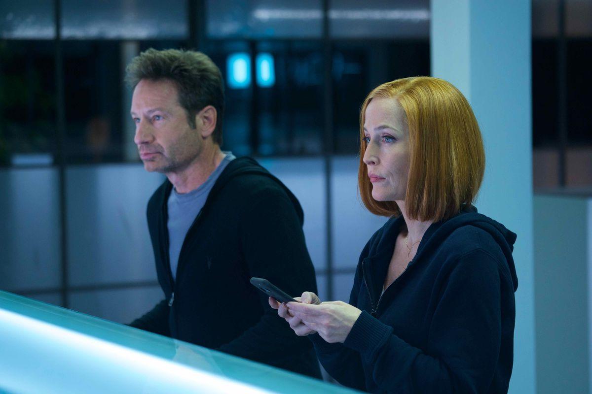 Mulder och Scully är sig lika...