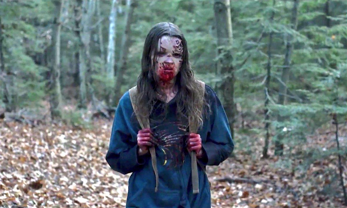 Nadia Alexander som Mina, vågar man gissa att namnet på karaktären är lånat från Bram Stoker?