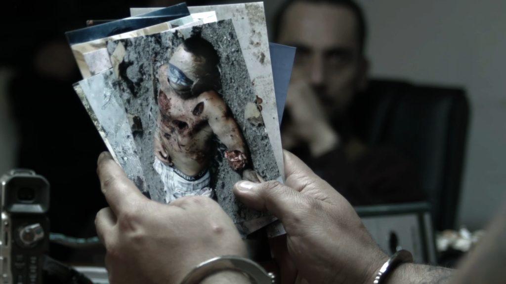 Kompetenta found footage-passager med realistiska otäckheter