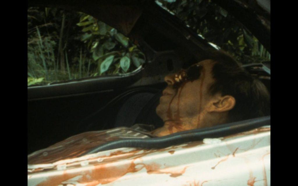 """En av filmens """"otäcka olyckor"""""""