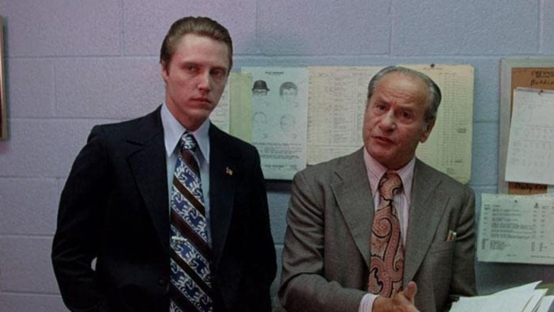 Både Christopher Walken och Eli Wallach föredrog rejäla slipsar som också kunde användas som handdukar.